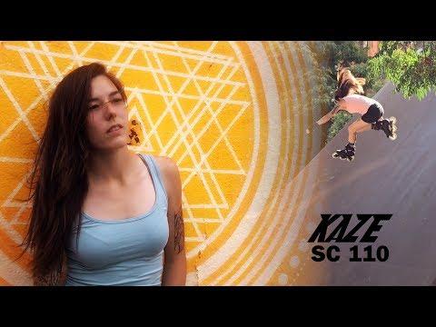 Kaze SC 110 - Freeskate with Mery Muñoz - Powerslide inline skates
