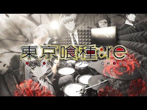 【東京喰種トーキョーグール:re】女王蜂 - HALF フルを叩いてみた / Tokyo Ghoul:re ED by Jooubachi full Drum Cover