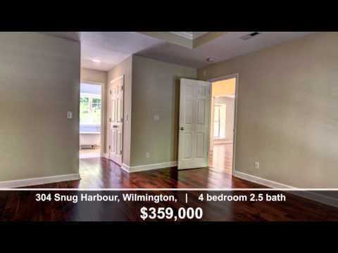 Wilmington Real Estate Agent: Home Tour 304 Snug Harbour, Wilmington, NC