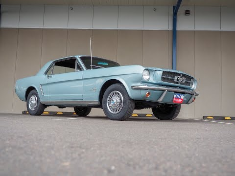 1965 Mustang SOLD I6 3-speed on the floor