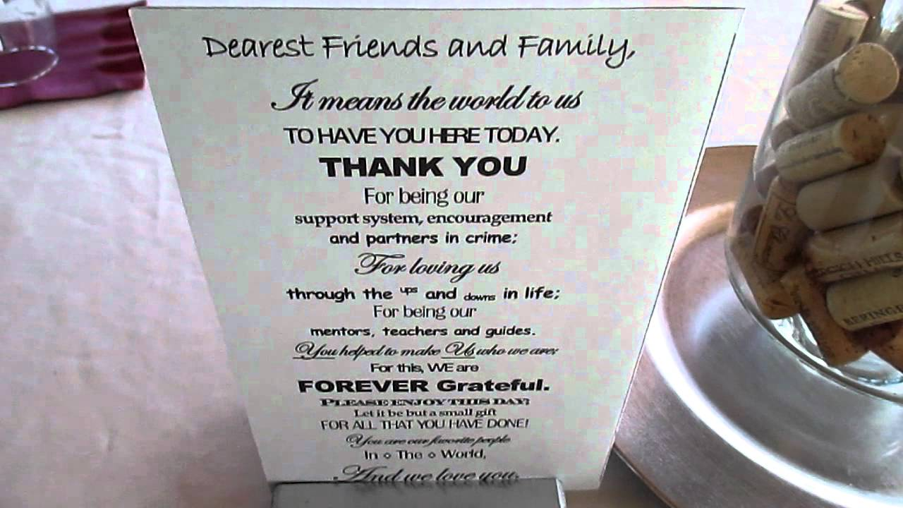 unique table thank you card from samantha jay katz wedding