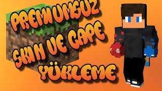 Mineshaftersiz Premiumsuz Minecraft a Skin Ve Pelerin Yükleme!