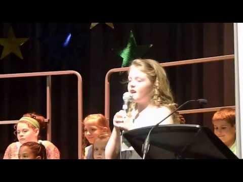 Holly - Touch the Sky - Geist Elementary School Earth Day Choir Concert