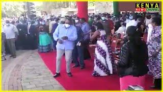 Jerusalema dance by Uhuru, Raila & Matiang'i - Hilarious