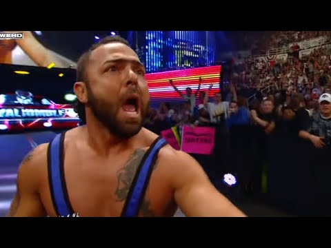 Santino sets a Royal Rumble Match elimination record -