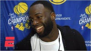 Draymond Green on Rockets' chatter: 'Not sure stupidity juices anyone' | NBA Sound