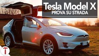 Tesla Model X Recensione e prova su strada