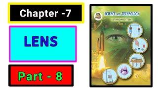 Part-8 ch-7 lenses science class 10th new syllabus maharashtra board