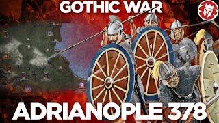 Battle of Adrianople 378 - Roman-Gothic War DOCUMENTARY
