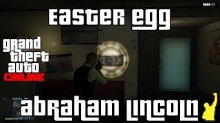 GTA V Online - Easter Egg de Abraham Lincoln