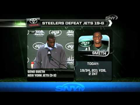 Rex Ryan, Geno Smith, and Stephen Hill react to the Jets loss - 10/13/13