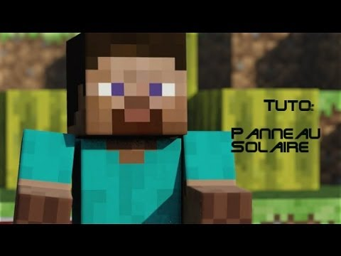 Tuto minecraft comment utiliser un panneau solaire youtube - Comment fonctionne un panneau solaire ...