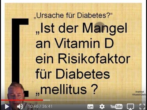 Vitamin D und Diabetes: Warum alle Diabetiker Vitamin D benötigen