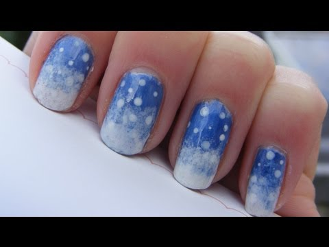 Easy wintersnow nail art tutorial youtube easy wintersnow nail art tutorial prinsesfo Gallery