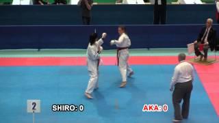 2014 ESKA - Cadet Ladies Individual Kumite Final