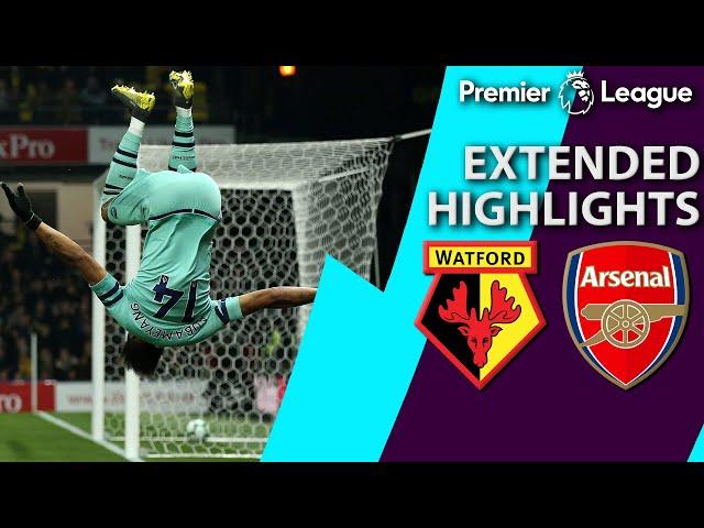 Watford v. Arsenal   PREMIER LEAGUE EXTENDED HIGHLIGHTS   4/15/19   NBC Sports