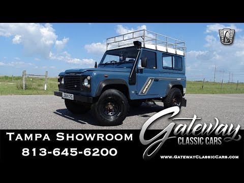 1992 Land Rover 90  Gateway Classic Cars of Tampa Stock: #1534 TPA
