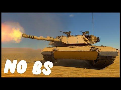 NO BS REVIEW || M1A1 (War Thunder Gameplay)