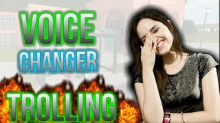 Voice changer TROLLING in discord! (10 year old girls voice broke) #1