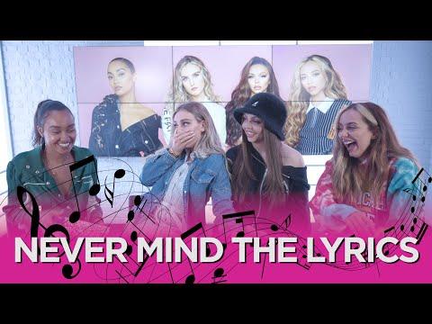 Little Mix sing-along to Nicki Minaj, Ariana Grande and Stormzy playing 'Never Mind The Lyrics' 🎶