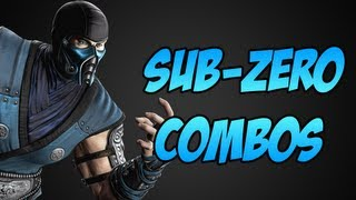 Mortal Kombat 9: Sub Zero Combo Video