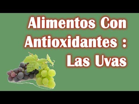 Alimentos con antioxidantes las uvas youtube - Antioxidantes alimentos ricos ...