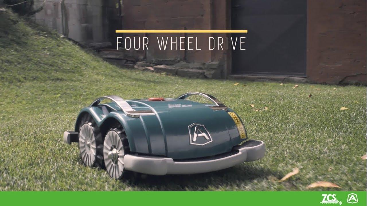 L60 Deluxe   Ambrogio Robot Models - Lawnmower Robot