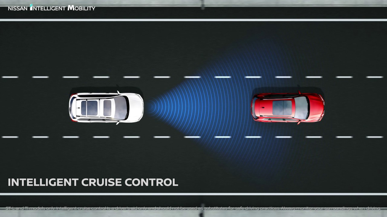 Cruise Control Should Not Be Used >> Nissan Pathfinder Intelligent Cruise Control Youtube
