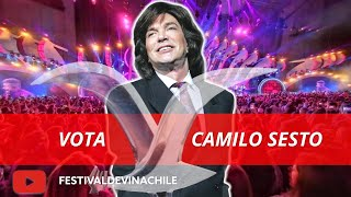 VOTA CAMILO SESTO: Fans votan por el artista más popular de la historia del #FESTIVALDEVIÑA