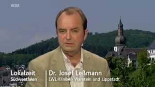 Abteilung Depressionsbehandlung in den LWL-Kliniken Lippstadt und Warstein - Lokalzeit Südwestfalen