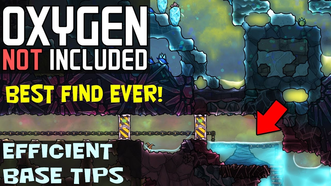 Oxygen Not Included  SELF COOLING STEAM GEYSER! This is THE BEST Map Seed  Ever!!!