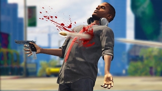 I GOT SHOT! *SO MESSED UP!* | GTA 5 Role Play Life