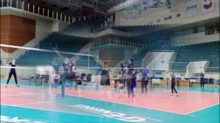 """Волейбол. Женская """"молодежка""""U-20. Сборы в Одинцово"""