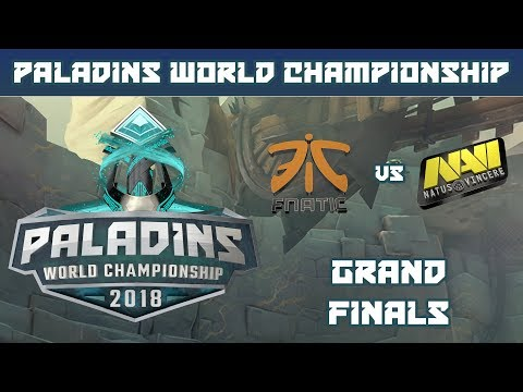 Paladins World Championship 2018: Grand Finals - FNATIC vs. Natus Vincere