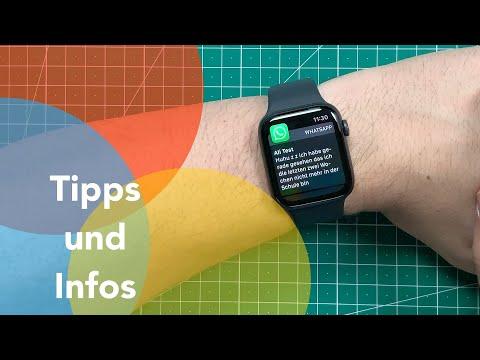 WhatsApp mit der Apple Watch Series 5: Was geht, was nicht