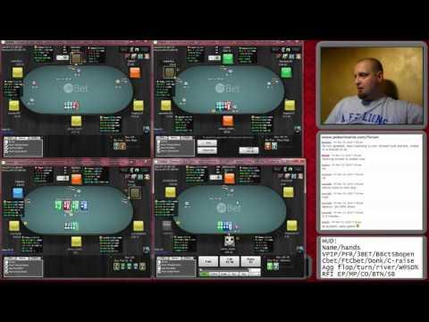 Kyyberi's Pot Limit Omaha Poker Training on Microgaming 13.11. 2015