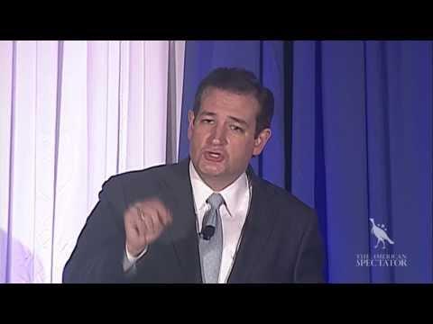 Senator Ted Cruz Keynote Speech (The American Spectator Robert L. Bartley Gala 2013)