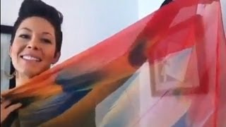 Fashion Scarf Patterns By Manuelle Scarves | Holiday Giveaway Thumbnail
