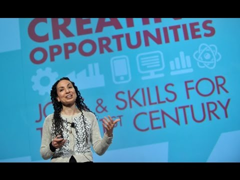 """Mona Mourshed, McKinsey, keynote address to """"Creating Opportunities"""" conference"""