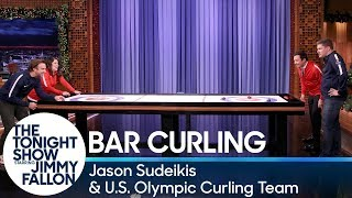 Download Bar Curling with Jason Sudeikis and the U.S. Olympic Curling Team Mp3 and Videos