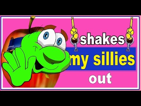 SHAKES MY SILLIES OUT - nursery rhymes