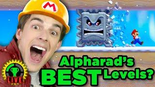 Alpharad is Testing My SKILLS! | Super Mario Maker 2