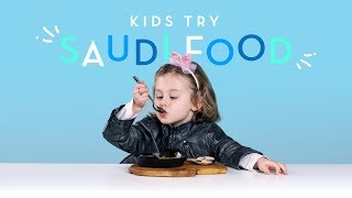 Kids Try Food from Saudi Arabia
