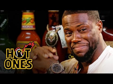 Thumbnail: Kevin Hart Catches a High Eating Spicy Wings | Hot Ones