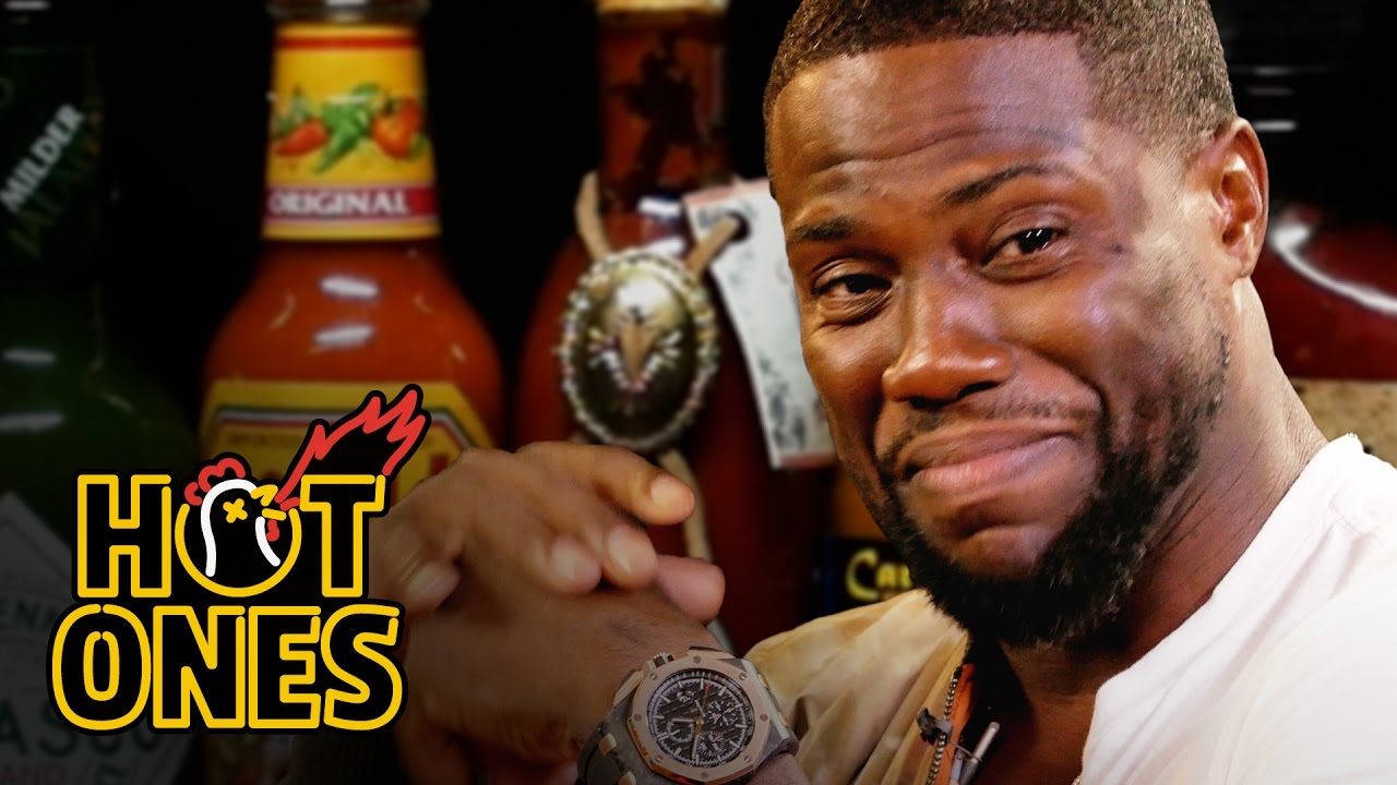 Kevin Hart Eats Wings So Spicy He Goes Temporarily Deaf - Digg