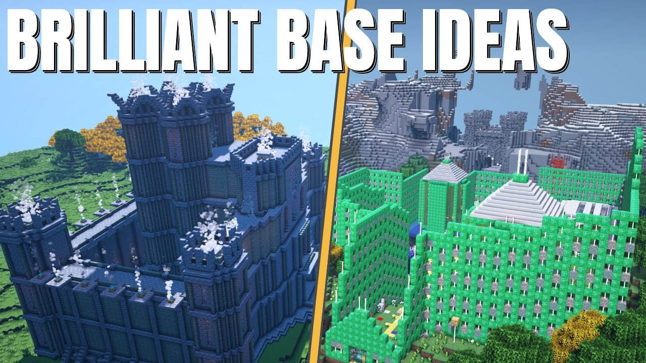 Minecraft Base but REALLY Clever | How to make a Base in Minecraft that will WOW (2021) Diamonds