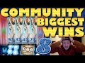 CasinoGrounds Community Biggest Wins #8 / 2018