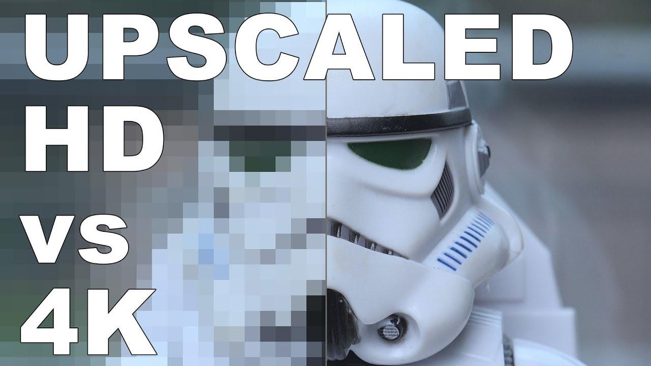 Download Upscaled 1080P HD VS 4K