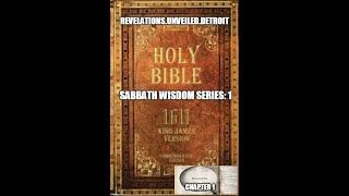 Sabbath WISDOM Series-Introduction-Proverbs 1.