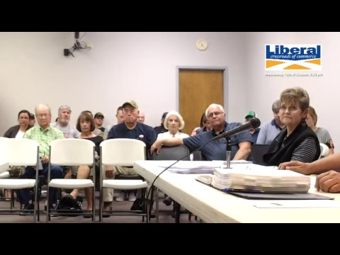 City of Liberal - Special Meeting 10/18/2017